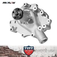 Ford Bronco Cleveland 302 351 V8 Proflow Aluminium Action Water Pump Satin Alloy