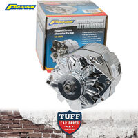 Holden Commodore VH VK 6 Cylinder Proform Chrome Alternator 100 AMP Internal Reg