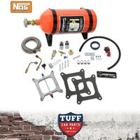 NOS Sniper Wet Nitrous Oxide Kit 100-150hp 4 Barrel Carb Carburettor Sq Bore New