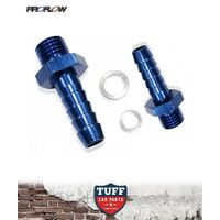"Proflow fittings suit Bosch 044 Fuel Pump Push on Barb 1/2"" Inlet 5/16"" Outlet"