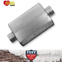 "Hooker 21516 Aero Chamber Muffler 2.5"" Center Inlet Center Outlet 21516HKR New"