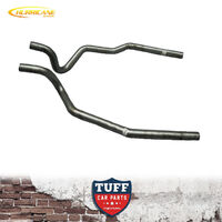 "Hurricane 3"" Rear Tail Pipes Ford Falcon XR XT XW XY XA XB XC Sedan Tailpipes"
