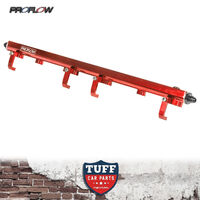 Proflow Red Billet Fuel Rail Kit for Nissan Skyline RB25 R33 11mm 14mm RB25DET