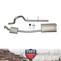 "Toyota Hilux D4D 3lt TD 2.5"" Mandrel Bent Muffler Delete Eliminator Exhaust Pipe"